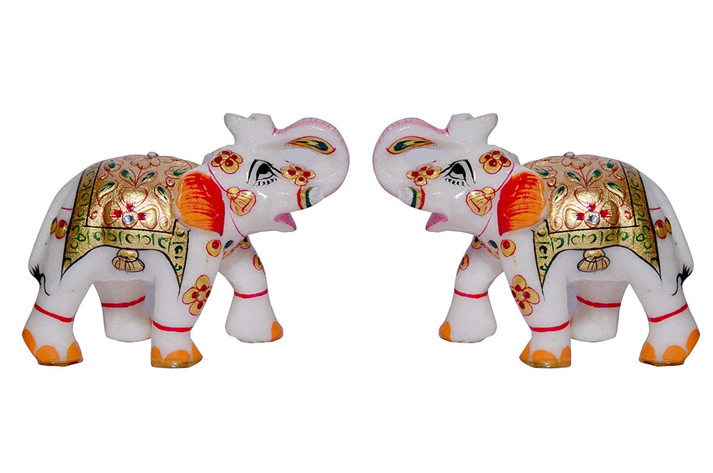 The Great Indian Elephant - set of 2 Showpiece