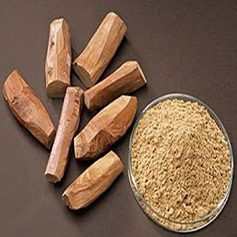 Sandalwood Scented Powder for Pooja and Skincare (100g)