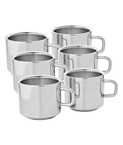 Stainless Steels Coffee/Tea Square Cup