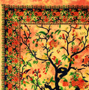 Colorful Tree of Life Tie Dye Hippie Cotton Wall Hanging Tapestry