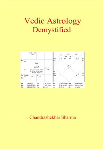 Vedic Astrology Demystified [Paperback] by Chandrashekar Sharma