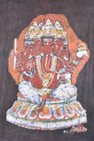 Four Headed Ganesha - Batik Painting