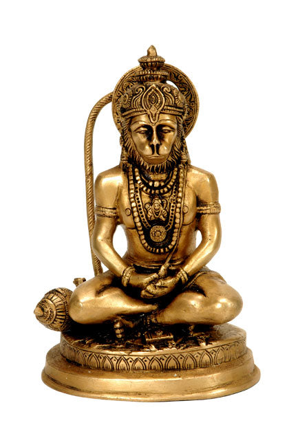 My Lord Resides In My Heart - Lord Hanuman Statuette