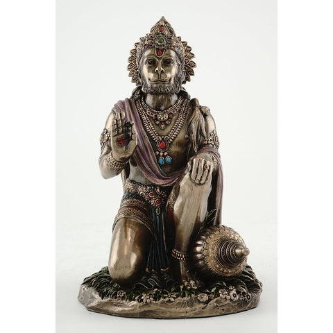 Blessing Lord Hanuman - High Finish Figurine