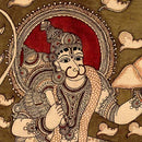 Kalamkari Painting 'Lovely Hanuman'