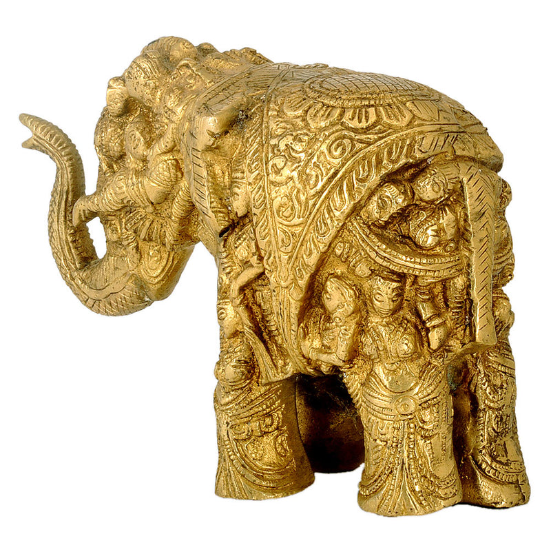 Decorative Elephant made with Human Forms