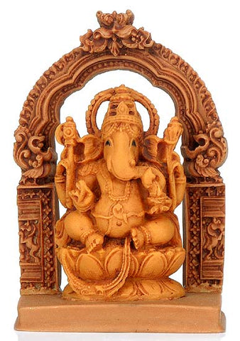 Lord Vinayak - Resin Sculpture 4.25""