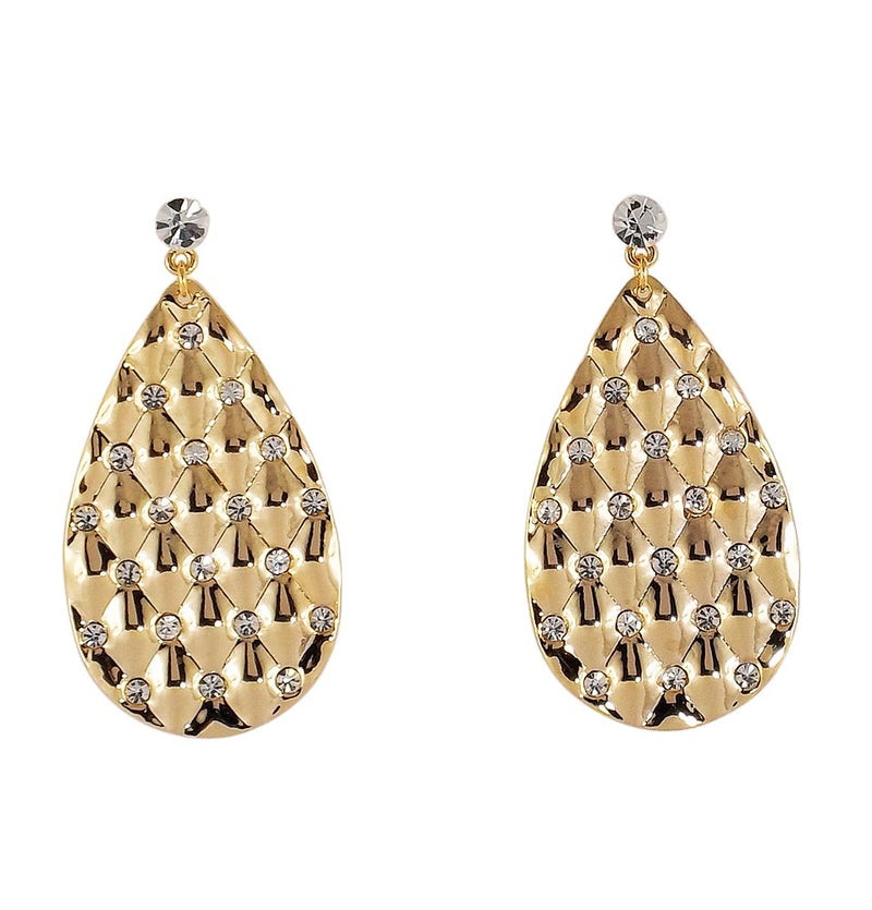 Indian Top New Golden Gift Stud Earrings Jewelry
