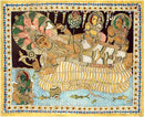 Lord Vishnu Resting on the Bed of Shesh-Naag