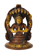 Patanjali Statue in Golden Brown Color Finish