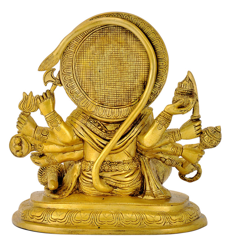 Seated Panchmukhi Hanuman