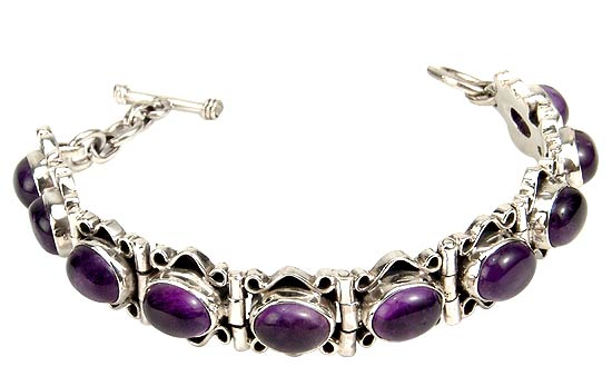 'Evening Party' Amethyst Bracelet
