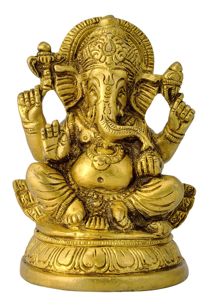 Brass Figurine of Lord Vinayaka