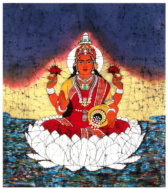 Goddess Lakshmi-Consort of Lord Vishnu