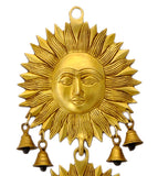 Sun God Surya Wall Hanging