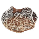 Gorgeous Goldfish - Wooden Printing Stamps