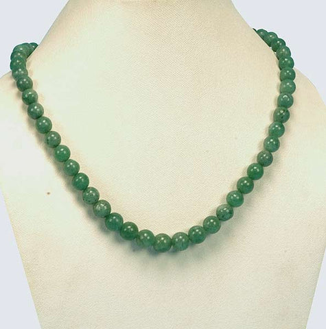 Green Symphony - Stone Necklace