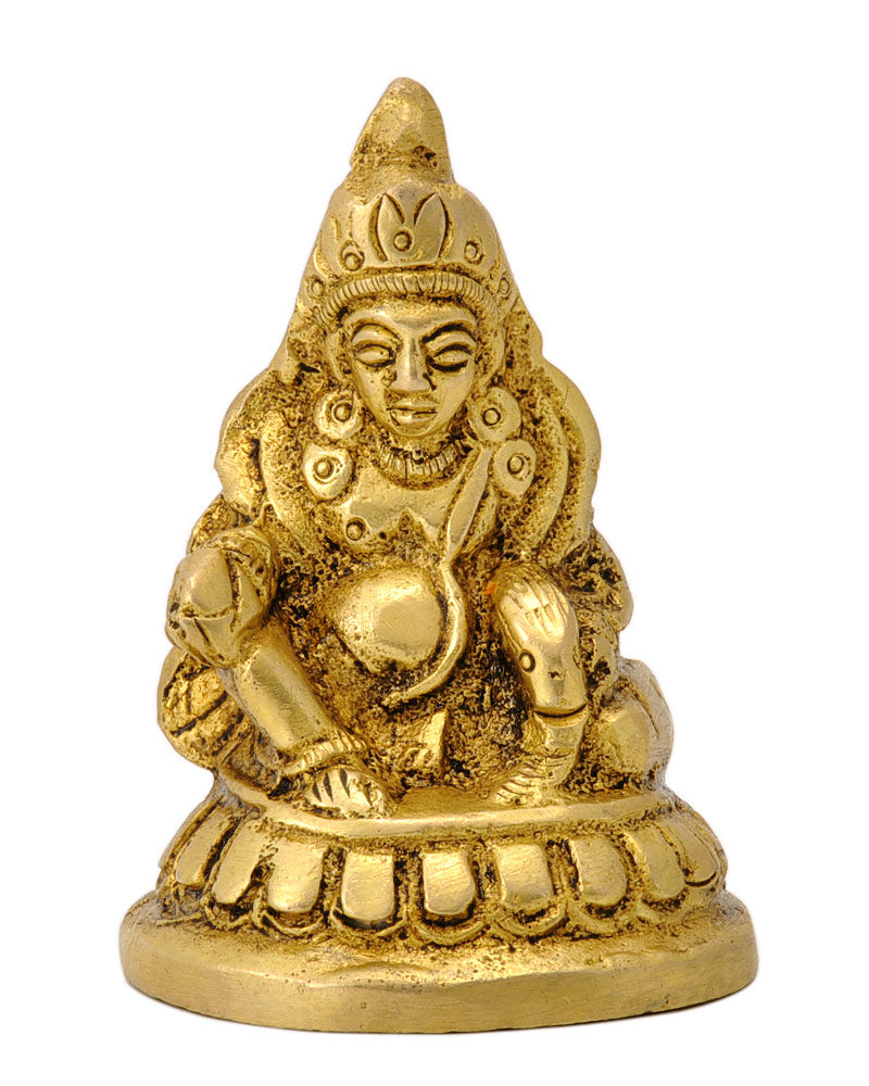 Miniature Lord Kuber Brass Statue
