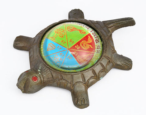 Sri Karya Siddhi Yantra on Tortoise
