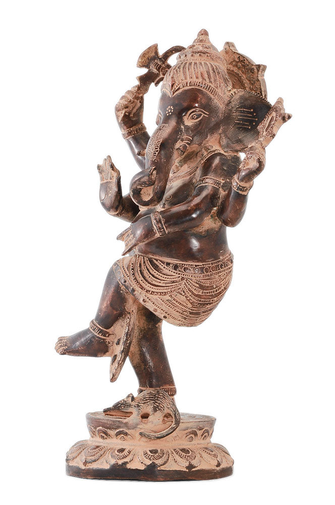 Unique Dancing God Ganesha