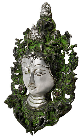 Antiquated Devi Tara Mask