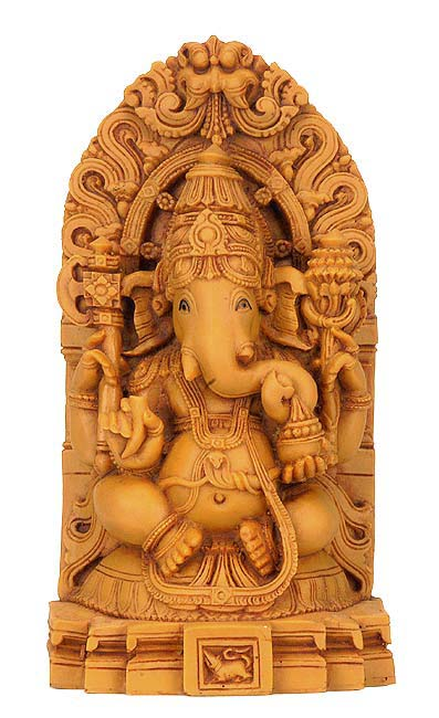 Lord Ganesha - Resin Statue 7.5""