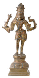 Antique Finish Pashupati Nath Shiva