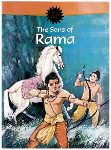 The Sons of Rama - Paperback Comic Book