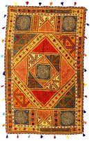 Indian Masala - Mirror Work Tapestry
