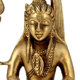 "Lord Shiva ""The Great Ascetic"" Brass Statue"