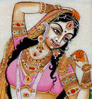 Pretty Womans - Marble Paintings