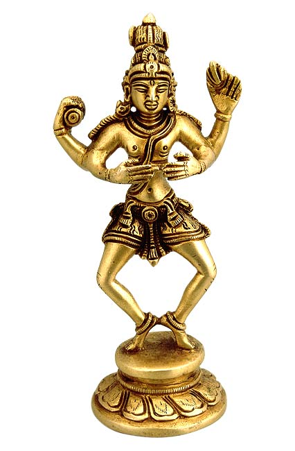 Brass Sculpture - Shiva's Dance