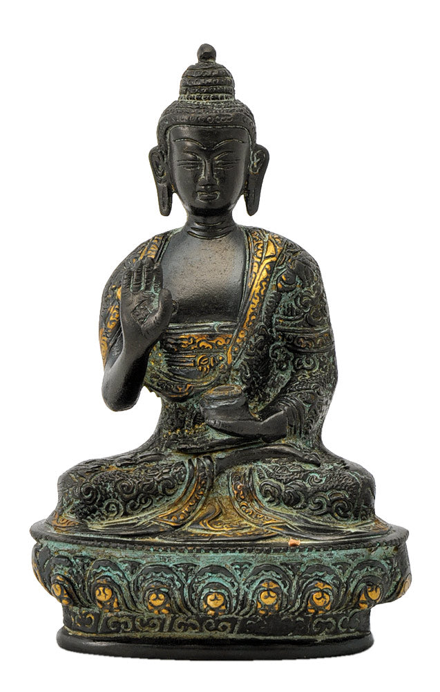 Medicine Buddha in Antique Finish