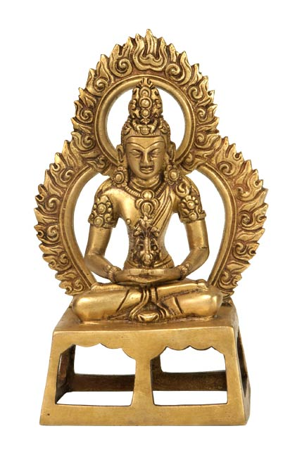 Radiant Shiva - Brass Sculpture
