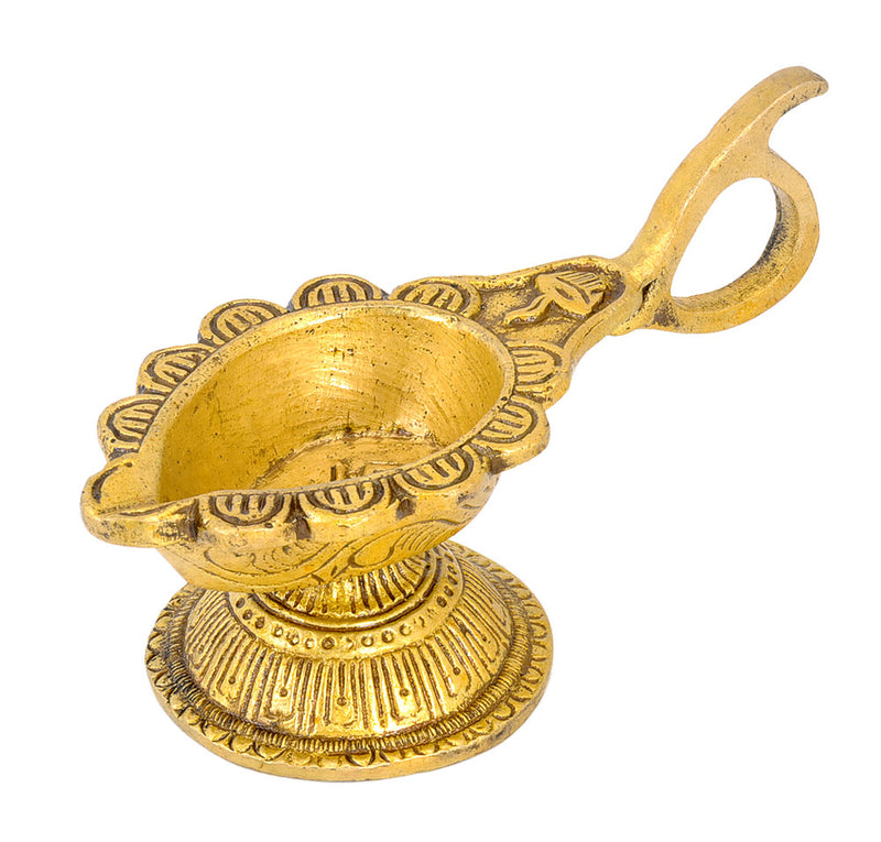 Brass Lamp for Pooja Room