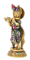 Mesmerizing Fluting Krishna