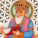 Lord Jhulelal - Marble Painting