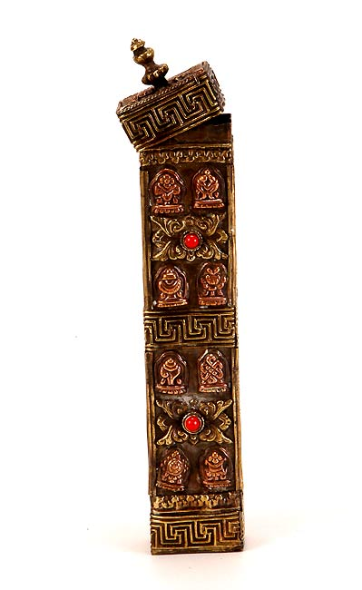 Ashta Mangala Incense Holder