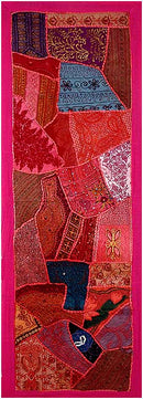 Magical Red - Cotton Wall Hanging