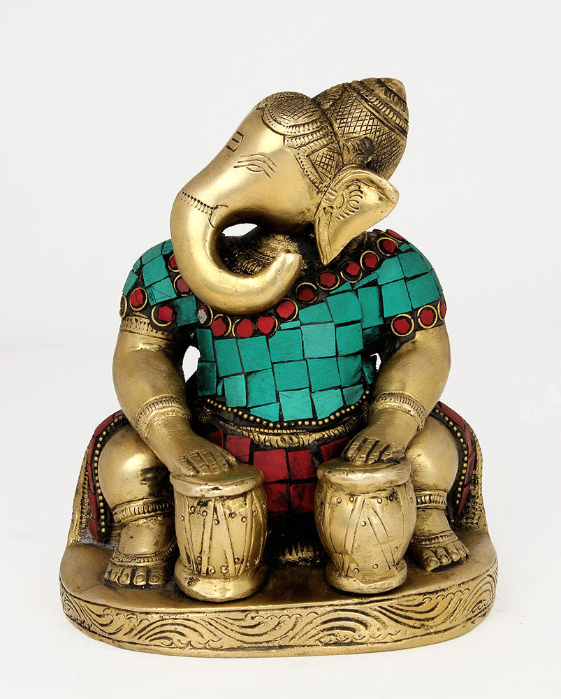 Ganesha Playing Tabla