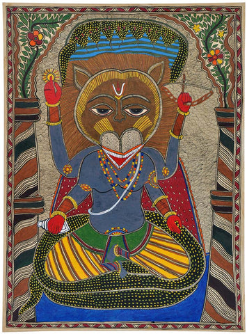 'Narasimha Avatar' The Man Lion Form of Lord Vishnu