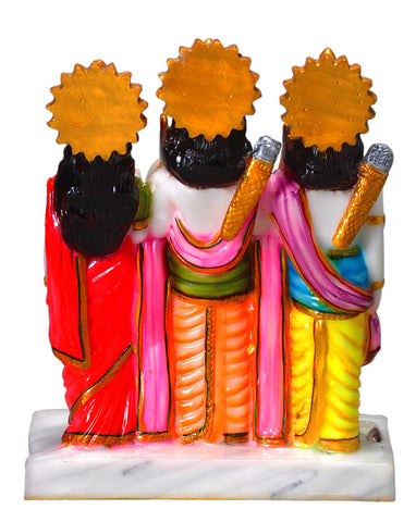 Shree Ram Darbar - Resin Statue 8.5""
