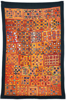 Folk Decorative Cloth 'The Lambadi Village'
