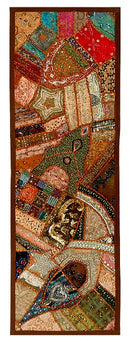Wonderful Earth - Heavely Embroidered Runner Tapestry