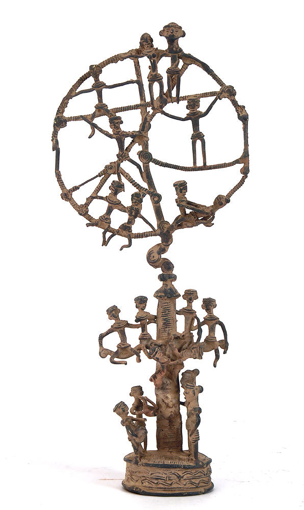 Dhokra Tribal Tree of Life Sculpture