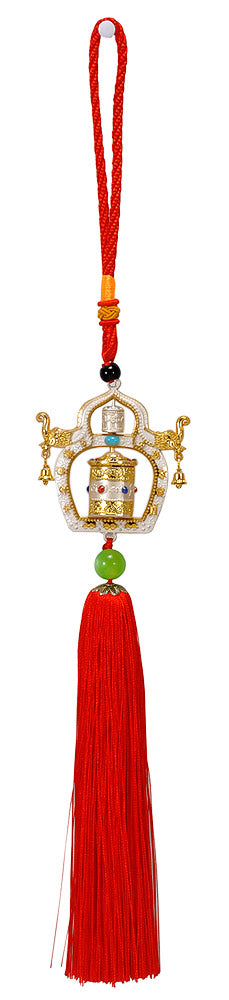 Buddhist Prayer Wheel Hanging