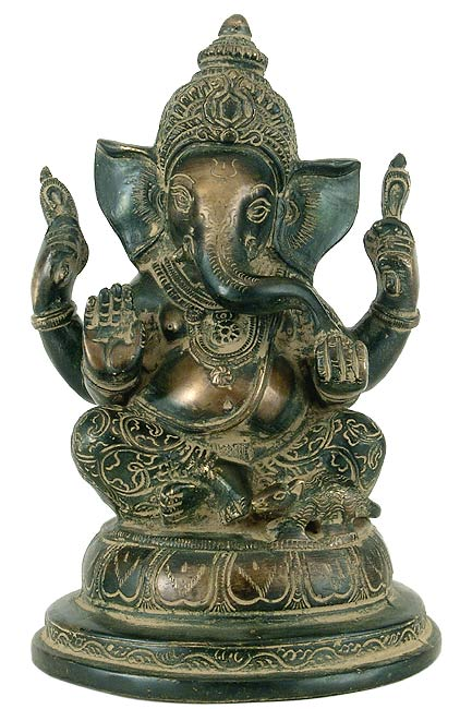 Lord Ganpati - Fine Crafted Brass Statue