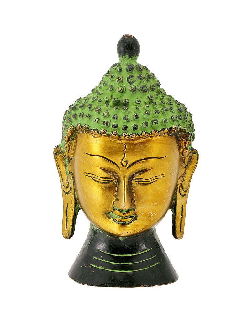 Buddha The World Preacher - Brass Head
