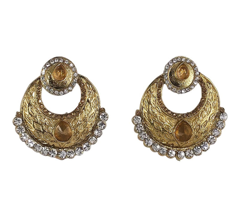 Designer Stylish Stone Made Beautiful Traditional & Ethnic Earrings