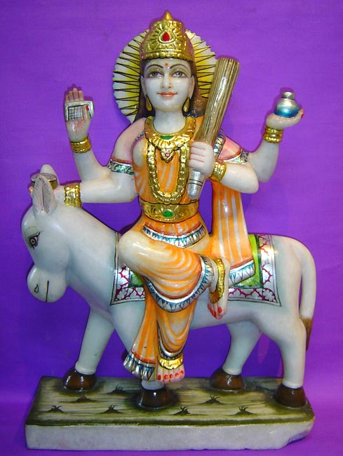 Sheetla Mata - Marble Idol